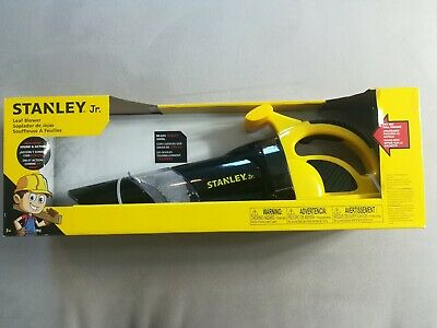 Stanley Jr Leaf Blower Workshop Tools Toys Kids Play Set Gift Realistic Toy NEW