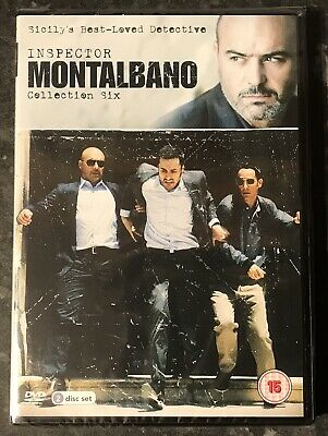 Inspector Montalbano Collection Six (2-Disc Dvd Set) New & Sealed Mint