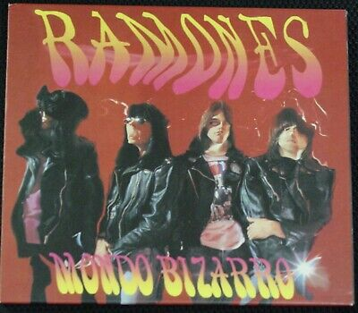 The Ramones - Mondo Bizarro CD + 1 (2004, Captain Oi! Records) Import + 1 BT