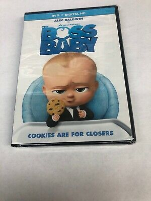 The Boss Baby (DVD, DIGITAL 2017) NEW