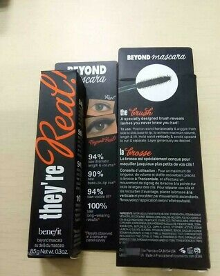 d49b9b9073c Benefit They're Real Beyond Mascara Black Full Size **FREE 24HRS SHIPPING*