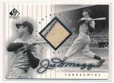 JOE DIMAGGIO 2000 SP Authentic JERSEY RELIC PINSTRIPE YANKEES HOF 1st Jsy Card