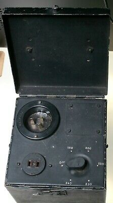 1950s/60s 240v Transformer multi AC voltage photographic laboratory