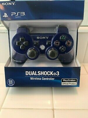 Official Genuine Sony Playstation PS3 Wireless Dualshock 3 Controller <BLUE>