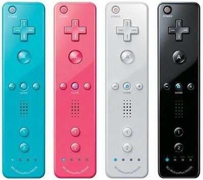For Nintendo Wii Wiimote Built in Motion Plus Inside Remote Controller