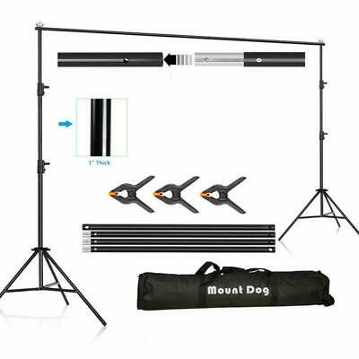 Photography Background Stand 10Ft Backdrop Support System Kit Photo Video Studio