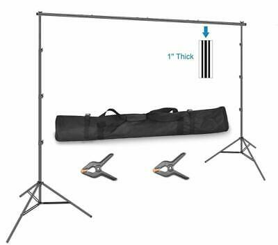10 X 12Ft H X W Backdrop Stand Kit Adjustable Photography Video Studio Free Ship