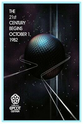 Disney's Epcot - Collector Poster 4 Different Sizes  (B2G1 Free!!)