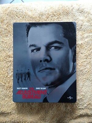 THE ADJUSTEMENT BUREAU / Blu-Ray  Steelbook Comme Neuf  Zone 2 - VF