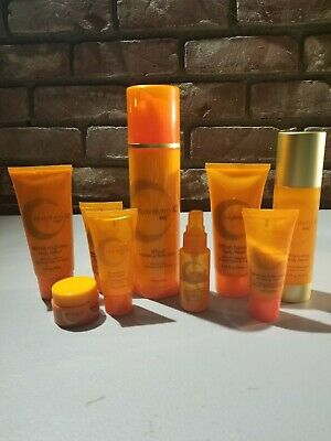 LOT OF 9 Arbonne Products Used Nutrimin C Re9 Lotion Wash Toner Serum Masque