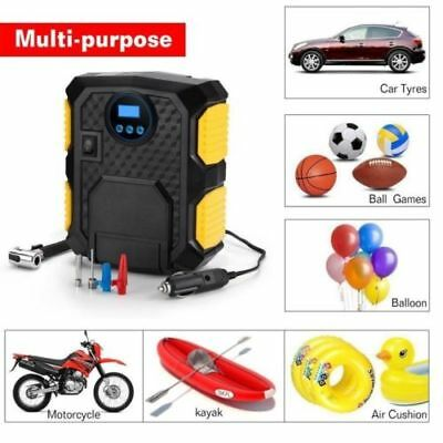 12V Electric Car Tyre Inflator Pump Digital Portable Tyre Air Compressor Pump