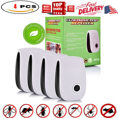 Ultrasonic Pest Repeller Control Electronic Repellent Mice Rat Bug Reject
