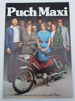 PUCH MAXI MANUAL Moped Workshop & Service CD Everything You