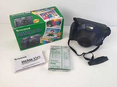 Fujifilm Instax 100 Instant Camera With Wide Picture Format & Film