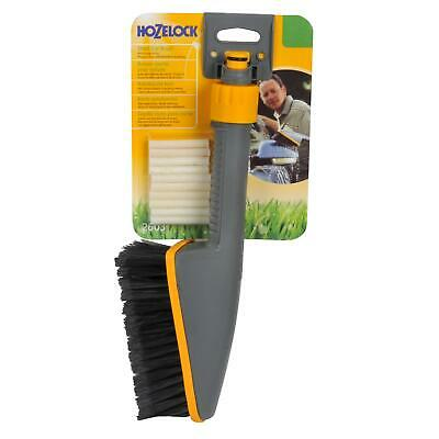 Hozelock Short Car & Wheel Cleaning Brush with Soapsticks and Water Flow Control