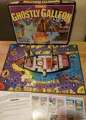 Ghostly Galleon By Waddingtons Vintage Board Game 1991.