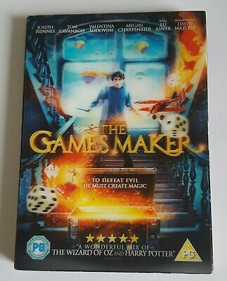 THE GAMES MAKER MOVIE @ DVD UK R2 @ EXCELLENT Fantasy family fun