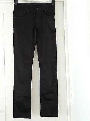 H&M Black Satin Trousers Girls 12-13 years Kids Party Evening Smart