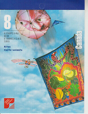 Canada Stamp Booklet 1999 Stamp Collecting Month Kites Sg 1942-1945