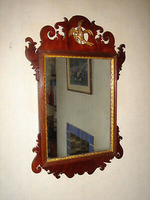 Regency Mahogany Wall Mirror Circa 1815