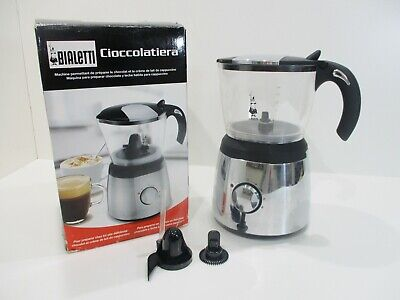 Bialetti Cioccolatiera Hot Chocolate Maker & Cappuccino Milk Frother Mixer