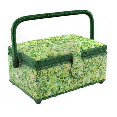 NEW Semco Willow Sewing Basket By Spotlight