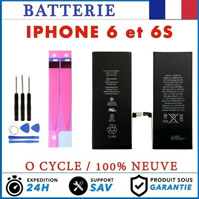Batterie Avec Adhesive iPhone 6 / 6S Interne Neuve 0 Cycle + Outil