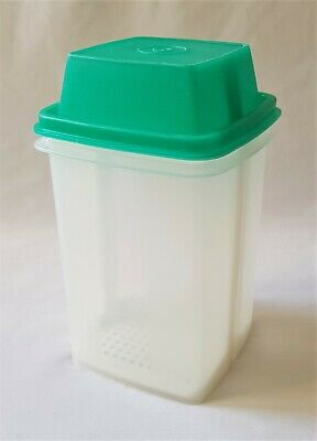 Vintage C1970'S Green Tupperware Beetroot Container / Server - Complete Like New