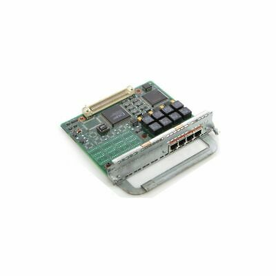 Cisco Isdn 4-Port Rj45 Ethernet Network Card Module 800-01236-03