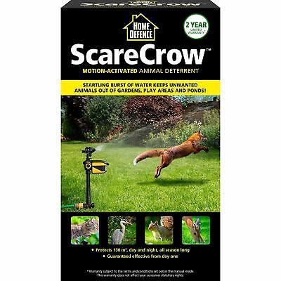 Home Defence- Pest Control Scarecrow Protection against Birds Dogs Foxes Cats