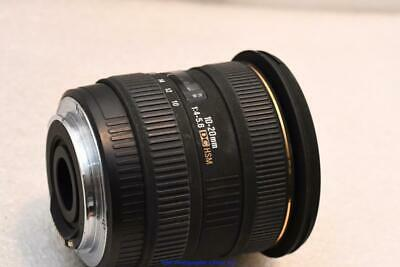 Sigma DC HSM 10-20mm EX Canon EOS EF fit GOOD CONDITION