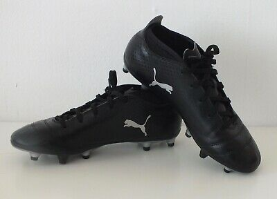 ffacac97164 Puma One 17.4 - FG Football boots Moulded studs - black - UK Size 4 (