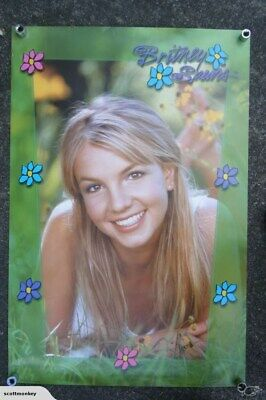 Britney Spears - Flowers - LARGE POSTER - p3020