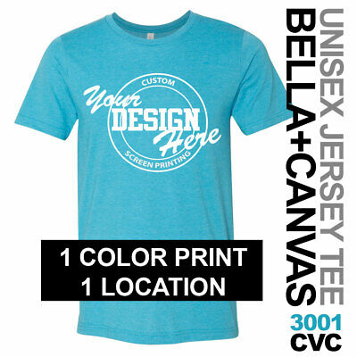230ae4247 24 CUSTOM PERSONALIZED Screen Printed T Shirts Any Color Tee 1 print ...