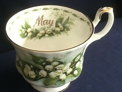 Royal Albert Flowers Of The Month May  tea cup (second- small pattern flaw)