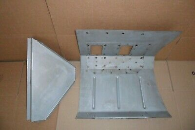 Land rover series 2, 2a left hand drive footwell.