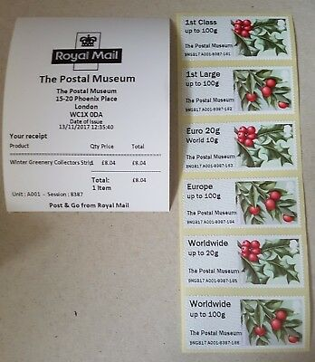 The Postal Museum Winter Greenery -Various Options for CL17S and R17YAL