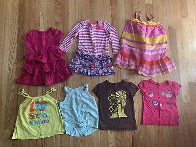 35bcddae8 Lot of 3T Girls Spring/Summer Clothes Dresses T-Shirts Baby Gap Old Navy