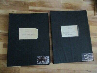 1976 12th Edition Vol. 1 and 2 Redi Real Estate Atlas Of San Diego County Maps