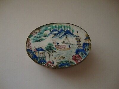 An antique Chinese snuff box Canton