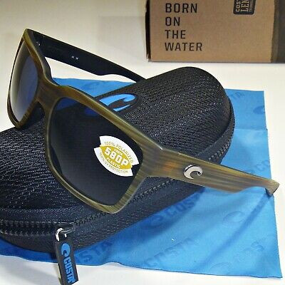 405c87e138 Costa Del Mar Playa Polarized Sunglasses - Matte Verde Teak Frame Gray 580P  Lens