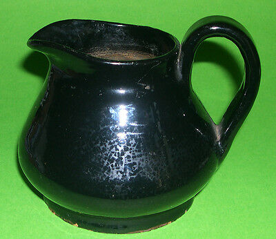 Antique Studio Pottery - Attractive H&S Stoneware Jug (Fully Marked).
