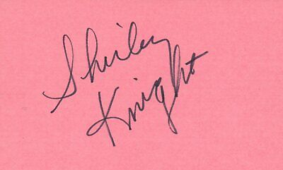 Entertainment Memorabilia Red Buttons Actor Comedian 1976 Shirley Maclaine Autographed Signed Index Card Autographs-original