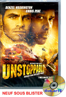 DVD : UNSTOPPABLE - Denzel Washington - Chris Pine - NEUF SOUS BLISTER