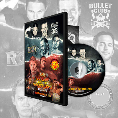 Ring of Honor - War of the Worlds Tour DVD NYC - ROH Okada Tanahashi Naito Liger