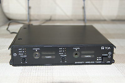 TOA Diversity Wireless Tuner with 2 modules WT-4820