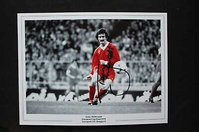 """TERRY McDERMOTT (Liverpool Newcastle United FC) Hand SIGNED 10.5 x8"""" Gloss Photo"""