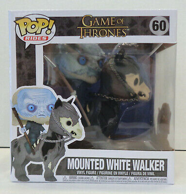 Mounted White Walker POP! Figure #60 (2019) Funko New Game Of Thrones