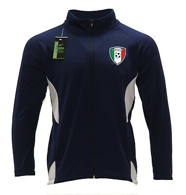 Youth Track Jacket Italy Color Navy Blue/White