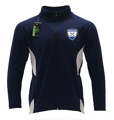 Youth Track Jacket Honduras Color Navy Blue/White